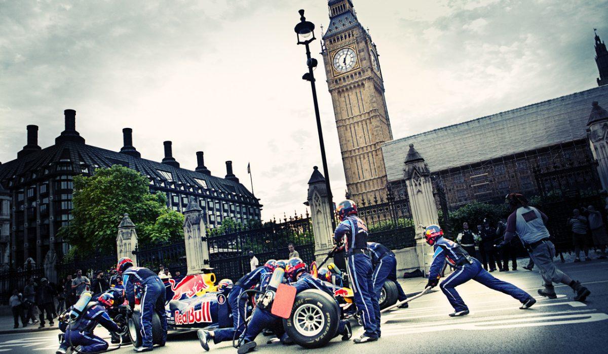 Red Bull F1 Pitstop met Mark Webber in London