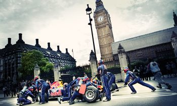 Red Bull F1 Pitstop met Mark Webber in London