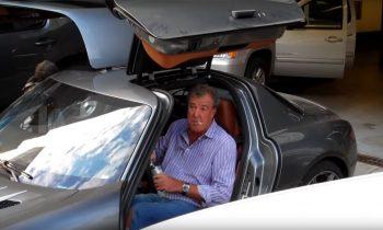 Jeremy Clarkson in Mercedes SLS AMGJeremy Clarkson in Mercedes SLS AMG