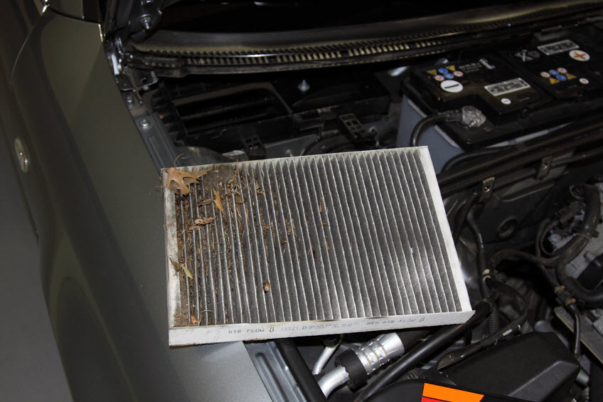 Vervuild interieurfilter audi a4 carblogger for Interieur filter