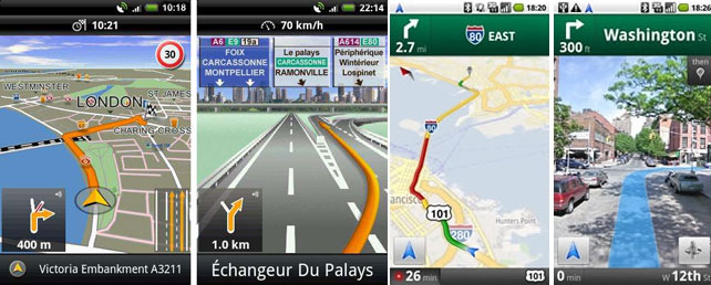 Android navigation