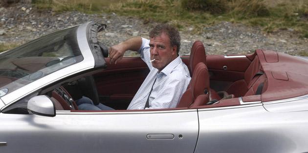 Jeremy Clarkson smoking