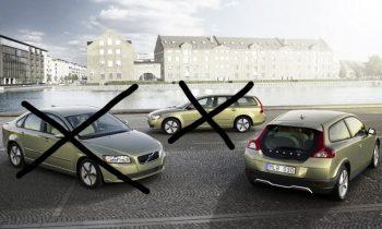 Volvo S40 en V50 uit productie