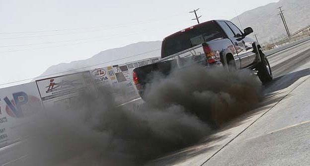 diesel uitlaatgassen