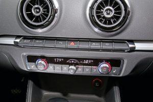 Audi A3 1.8 TFSI bediening airco