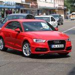 Audi A3 1.8 TFSI in de stad