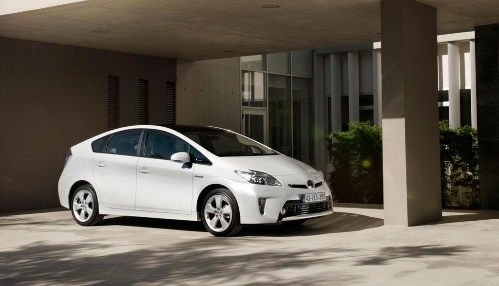 Test Toyota Prius Comfort 2012 Carblogger