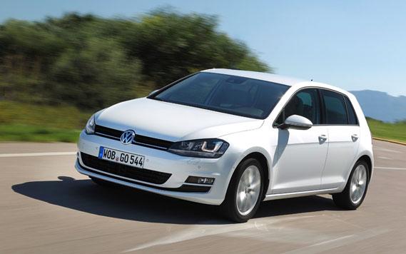 Volkswagen Golf 7 wit