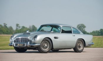 Aston Martin DB5 voor James Bonds Skyfall