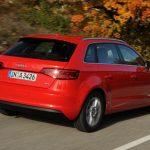Audi A3 Sportback achterkant