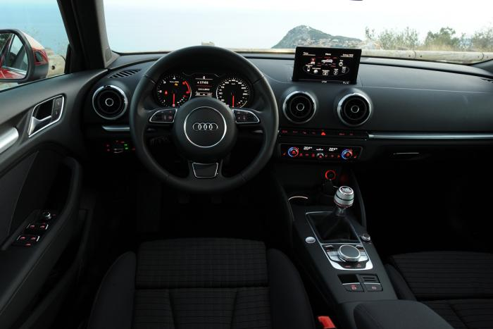 audi a3 sportback interieur carblogger. Black Bedroom Furniture Sets. Home Design Ideas
