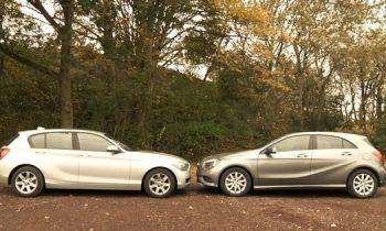 ANWB test Mercedes A en BMW 1-serie
