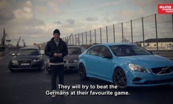 Volvo S60 Polestar vs BMW M3 vs Audi RS4