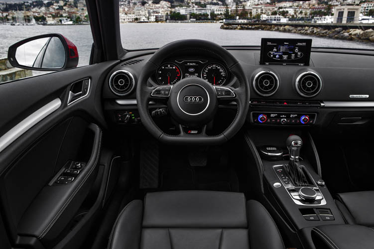 interieur audi a3 sportback s line dashboard carblogger. Black Bedroom Furniture Sets. Home Design Ideas