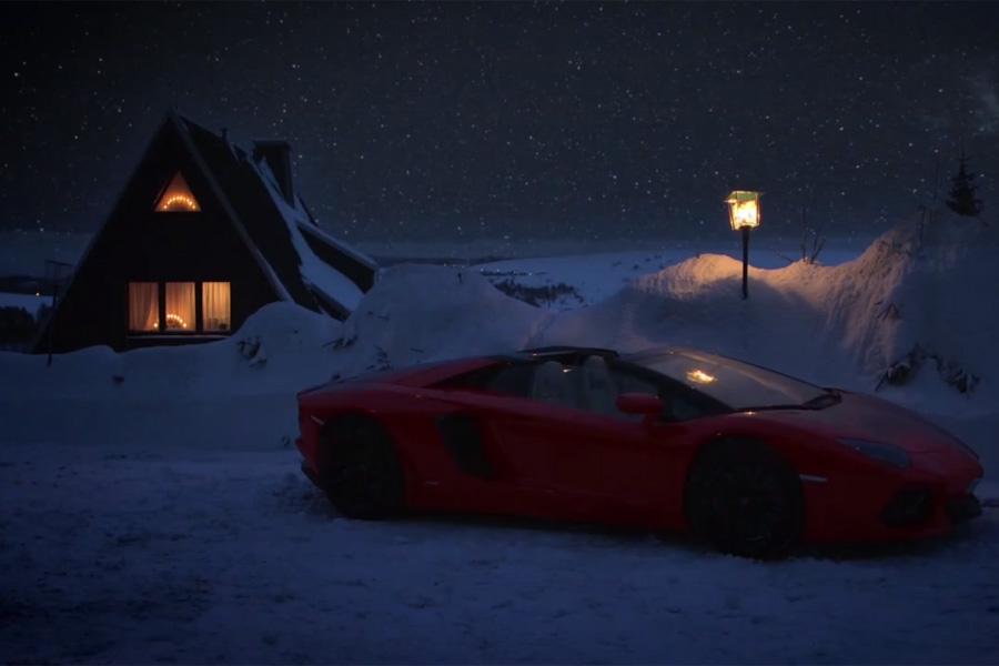 Lamborghini Geeft De Kerstman Vrije Tijd Carblogger