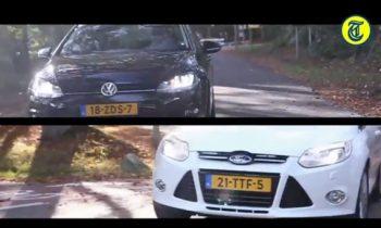 Volkswagen Golf 7 vs Ford Focus