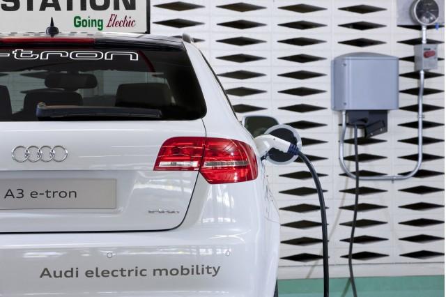 Audi A3 plug-in hybrid prototype