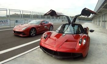 Ferrari f12berlinetta vs Pagani Huayra