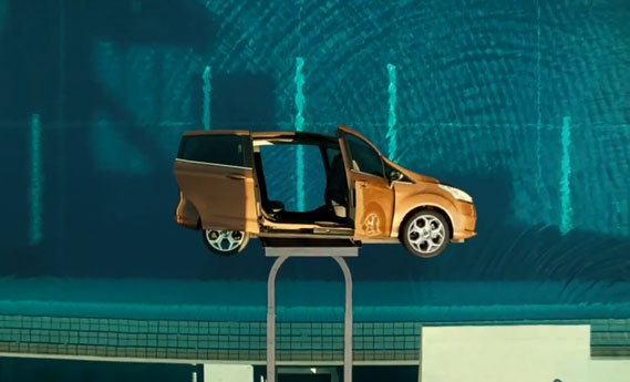 Ford B-MAX swimming pool commercial
