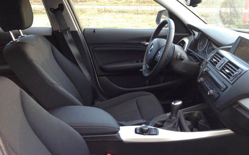 Interieur BMW 1-serie EfficientDynamics