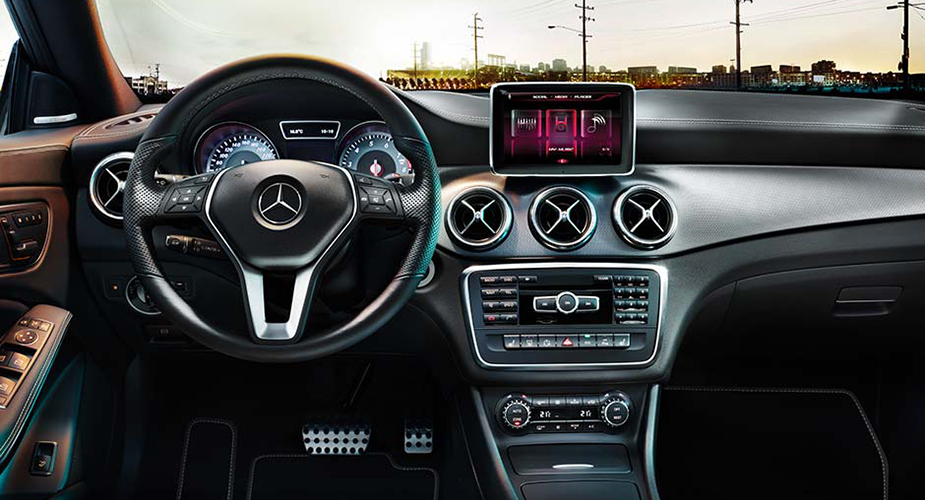 Mercedes cla interieur dashboard carblogger for Interieur mercedes