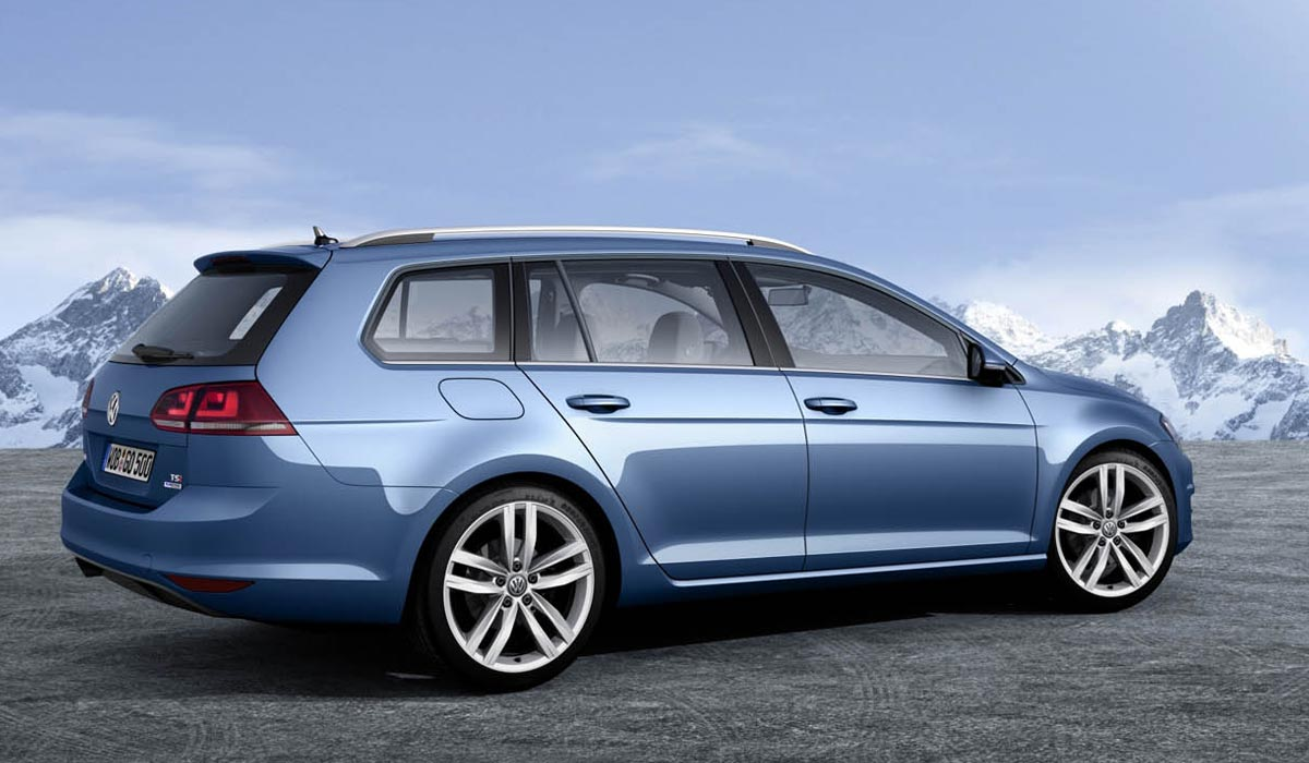 Vw Golf 7 Variant Komt In Augustus 2013 Carblogger