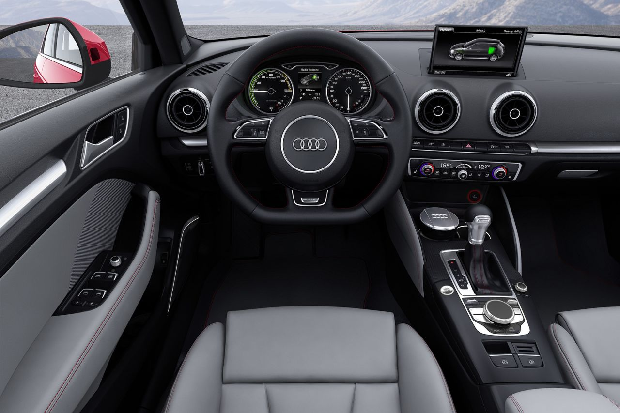 interieur audi a3 e tron carblogger. Black Bedroom Furniture Sets. Home Design Ideas
