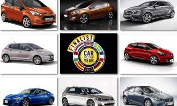 Finalisten auto van het jaar 2013