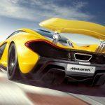 Achterkant McLaren P1 2014