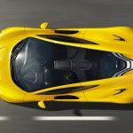Bovenkant McLaren P1 2014
