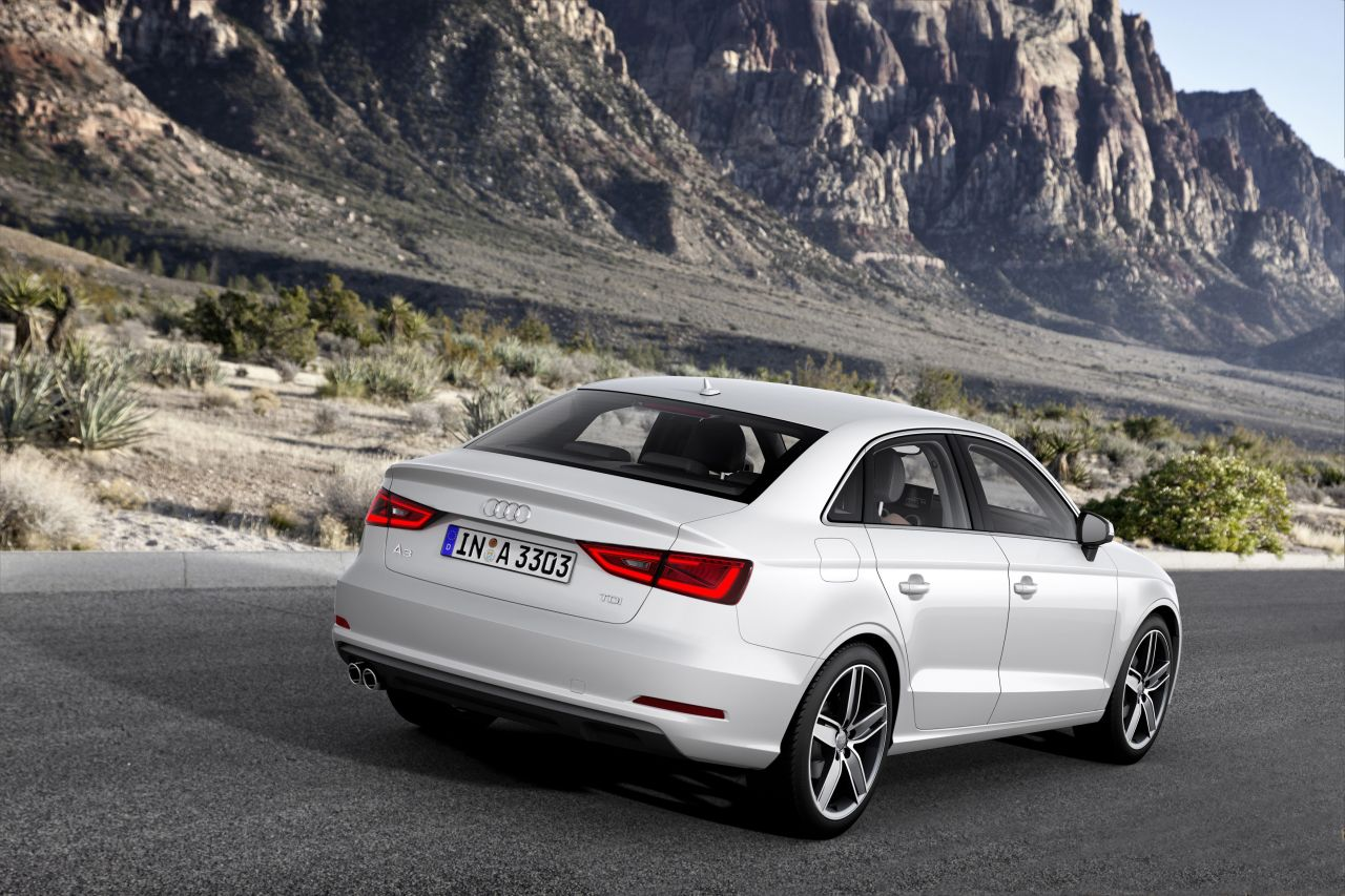 Audi A3 Limousine Carblogger