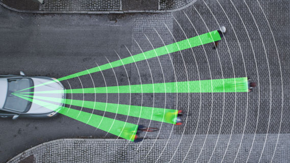 Volvo Cyclist Detection