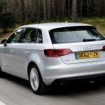 Achterkant Audi A3 Sportback 1.4 TFSI