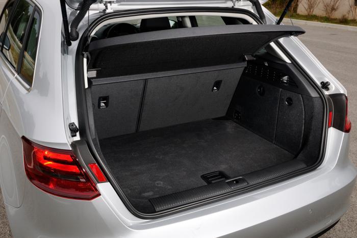 Bagageruimte Audi A3 Sportback 1 4 Tfsi Carblogger