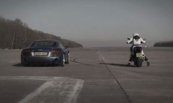 Audi R8 V10 vs. Ducati Diavel