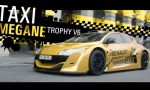 Renault Megane Trophy V6 as taxi in Paris