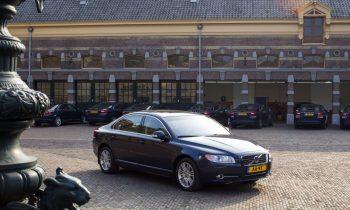 Volvo S80 inhuldiging Koning Willem Alexander