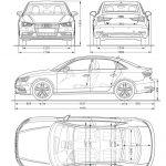 Afmetingen Audi A3 Limousine