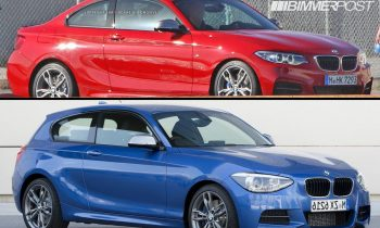 BMW M235i coupé vs M135i hatchback