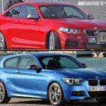 BMW M235i coupé vs M135i hatchback