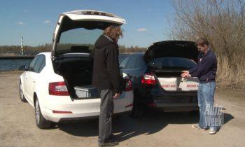 Skoda Octavia hatchback vs Ford Focus sedan