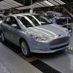 Productie Ford Focus Electric