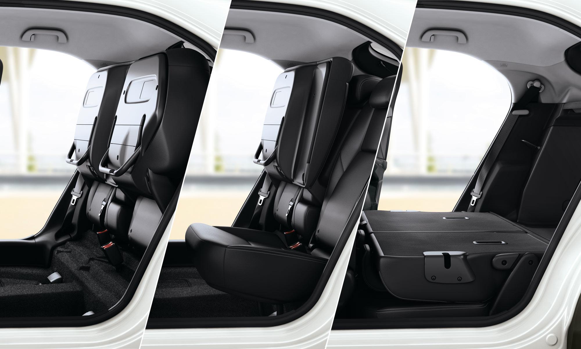 Honda Civic Magic Seats on 4 Door Honda Fit