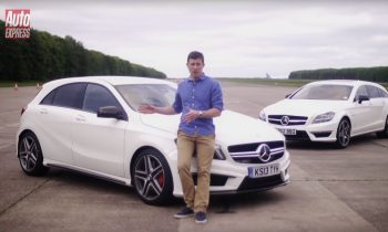 Mercedes A45 AMG vs CLS63 AMG Shooting Brake