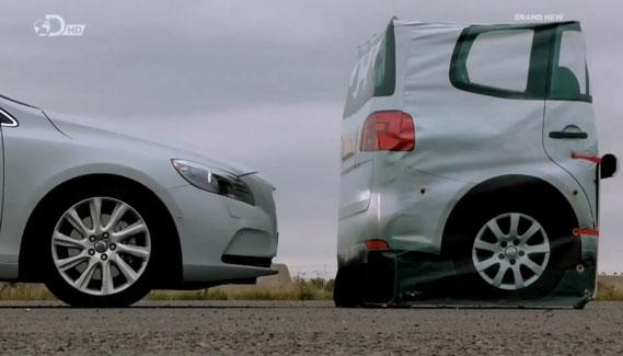 Fifth Gear test city braking systemen