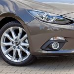 Mazda 3 sedan 2014 schuin van voren