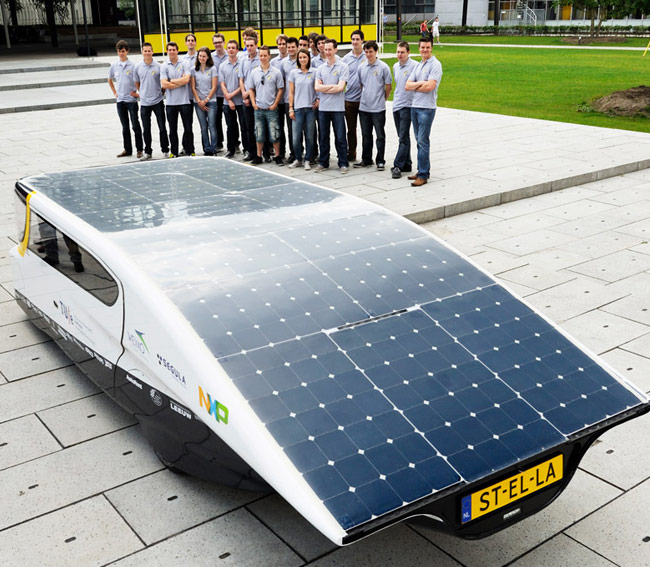 Gezinsauto Op Zonne Energie Komt Uit Eindhoven Carblogger