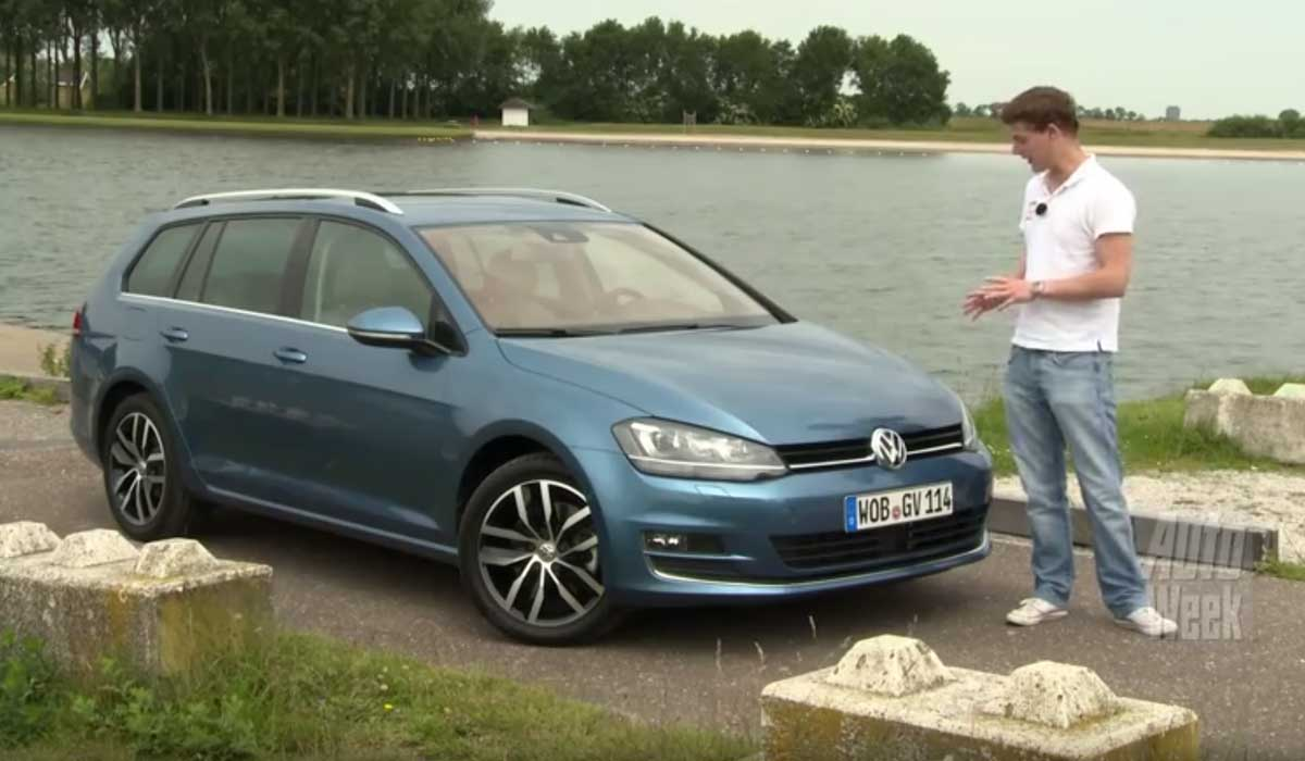 test volkswagen golf 7 variant 1 4 tsi carblogger. Black Bedroom Furniture Sets. Home Design Ideas