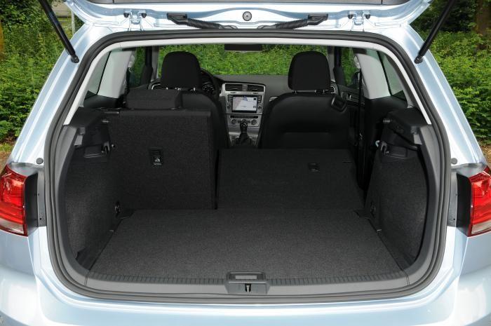 Bagageruimte VW Golf 7 TDI BlueMotion 2013 | CARBLOGGER