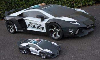 `Lamborghini Aventador van papierLamborghini Aventador van papier